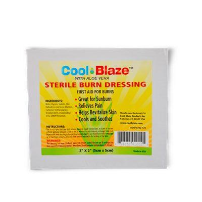 Compresa Quemaduras Cool Blaze 2″ x 2″ (5cm x 5cm)
