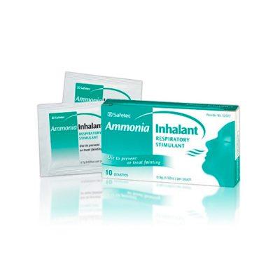 Toallita Inhalante de Amoniaco – 10 unid.