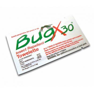Toallita Repelente de Insectos BugX