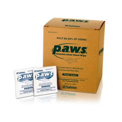 Toallitas Antimicrobial p.a.w.s. – 100 unid.