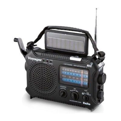 Radio Solar & Dinamo Voyager – Cargador de Celular