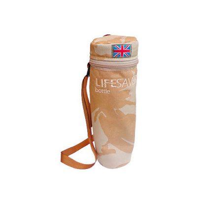 LifeSaver Pouch Protector Botella – Desert DPM