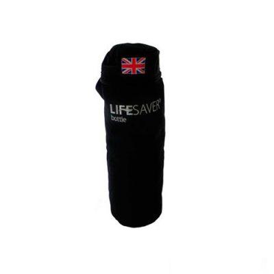 LifeSaver Pouch Protector Botella – Negro