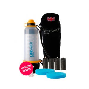 LifeSaver Botella Filtrante Starter Pack