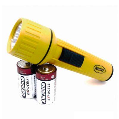 Linterna 3 LED a Pilas «D»
