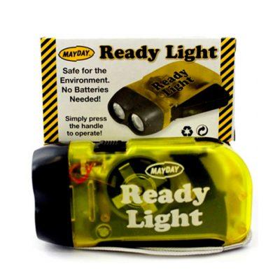 Linterna a Dinamo de Palma «Ready Light»