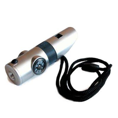 Silbato 7 en 1 con luz LED
